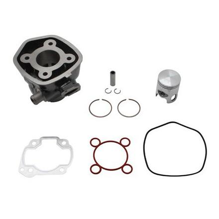 Cylindre Scoot Dr Fonte pour MBK 50 Nitro, Mach G-Yamaha 50 Aerox, Jog R -Malaguti 50 F12, F15 Liquide-Aprilia 50 Sr Liquide
