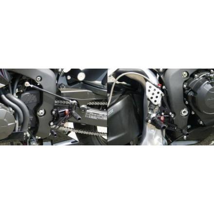 Commandes reculées multi-position LSL pour Honda CBR600RR 2007-10