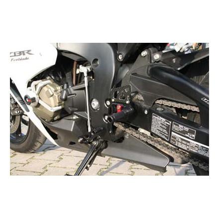 Commandes reculées multi-position LSL pour Honda CB1000R 2008-10