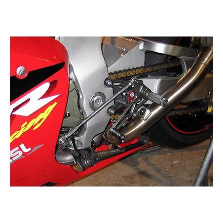 Commandes reculées multi-position LSL pour Honda VTR1000 SP1