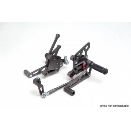 Commandes reculées multi-position LSL pour Suzuki GSXR600 01-03 / GSXR750 00-03 / GSXR1000 00-02
