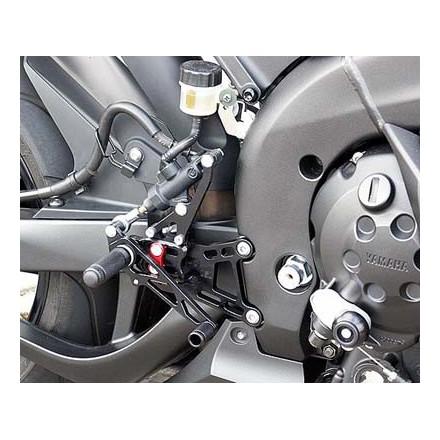 Commandes reculées multi-position LSL pour Yamaha YZF-R1 04-06