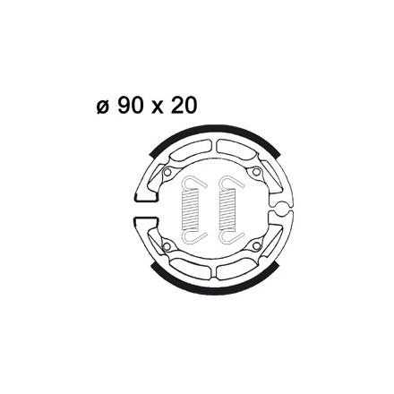 Mâchoire de freins AP RACING LMS810 O 90 x 20