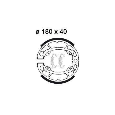Mâchoire de freins AP RACING LMS868 O 100 x 28