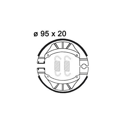 Mâchoire de freins AP RACING LMS871 O 95 x 20