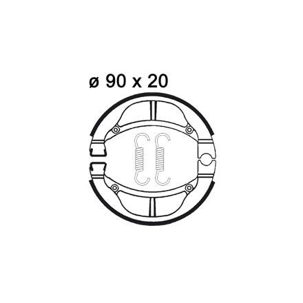 Mâchoire de freins AP RACING LMS872 O 90 x 20