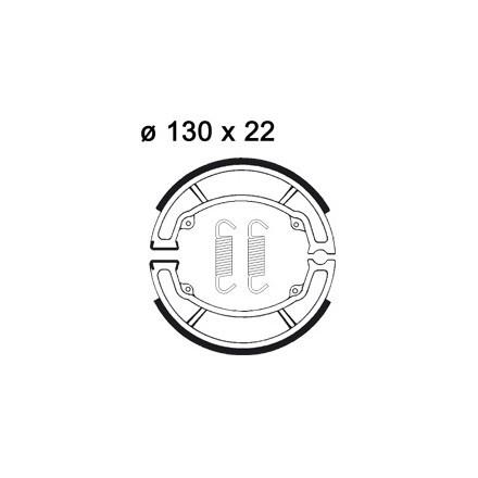 Mâchoire de freins AP RACING LMS880 O 130 x 22