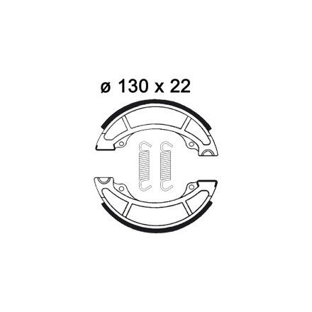 Mâchoire de freins AP RACING LMS882 O 130 x 22