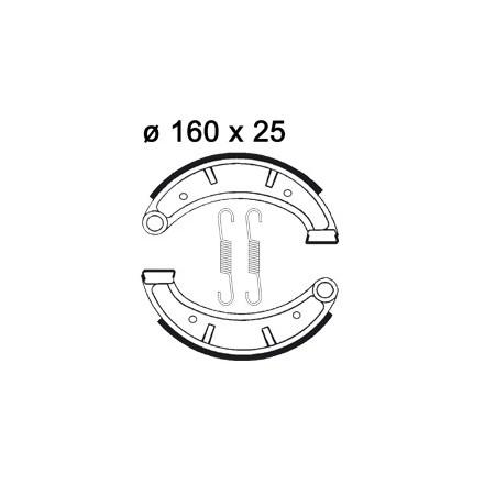 Mâchoire de freins AP RACING LMS891 O 160 x 25