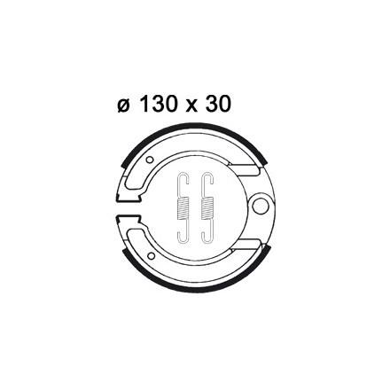 Mâchoire de freins AP RACING LMS892 O 130 x 30