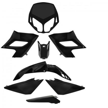 Carrosserie Noir pour Derbi Senda DRD Racing et DRD Limited