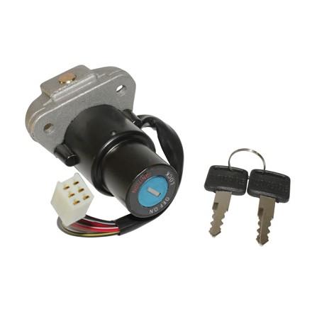 Contacteur à clé 50 à Boite Adapt. Mbk 50 X-Power-Yamaha 50 Tzr (6 Fils) -Selection P2R-