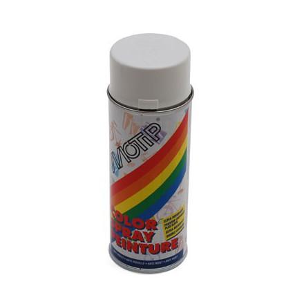 BOMBE DE PEINTURE MOTIP GLYCERO BRILLANT BLANC PUR spray 400ml (01600)