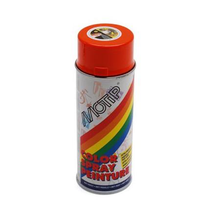 BOMBE DE PEINTURE MOTIP GLYCERO BRILLANT ORANGE KTM spray 400ml (01605)