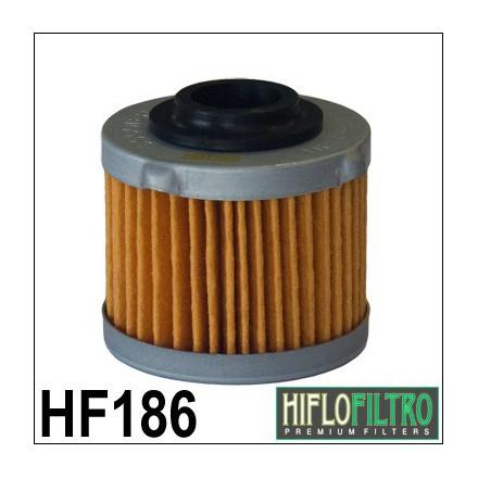 HF186 Filtre à huile HIFLOFILTRO HF186 POUR APRILIA 125 SCARABEO LIGHT 2007- HIFLOFILTRO Filtre à huile