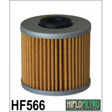 HF566 Filtre à huile HIFLOFILTRO HF566 POUR KYMCO 125 DOWNTOWN, 125 SUPER-DINK, 300 DOWNTOWN, 300 PEOPLE-KAWASAKI 300 J 14- HIFL