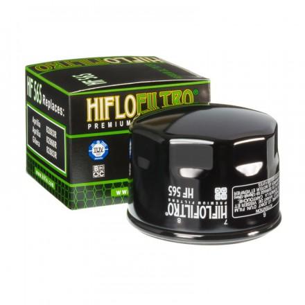 HF565 Filtre à huile HIFLOFILTRO HF565 POUR GILERA 800 GP 08,APRILIA 850 SRV 12-, 750/1200 DORSODURO, 850 MANA, 750 SHIVER (76x5