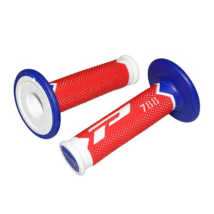Revêtement poignée Progrip 788 Blanc / Rouge / Bleu