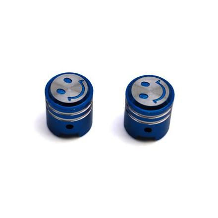 Bouchon de valve Piston couleur Bleu