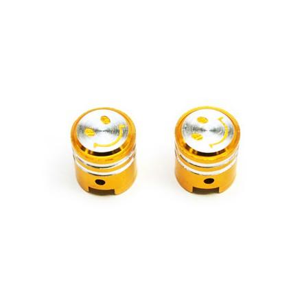 Bouchon de valve Piston couleur Or