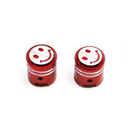 Bouchon de valve Piston couleur Rouge
