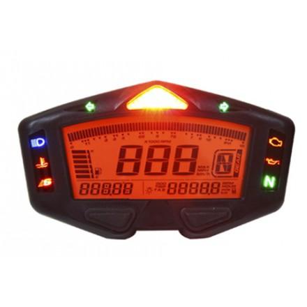 Compteur de vitesse KOSO DB-03R multifonctions noir universel