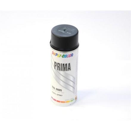 Bombe de peinture Dupli-Color Prima GelTech Noir Mat (400ml)