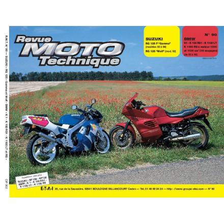Revue Moto Technique RMT 90.2 SUZUKI RG 125 (92/93)/BMW K1-K100 RS