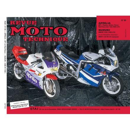 Revue Moto Technique RMT 80.2 APRILIA 125AF1(89/91):SUZUKI GSX-R1100(91)