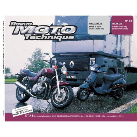 Revue Moto Technique RMT 95.3 PEUGEOT SCOOTER SV 125