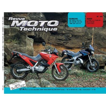 Revue Moto Technique RMT 96.5 YAMAHA DT 125 R-RE-TDR/BMW F650 (93/97)
