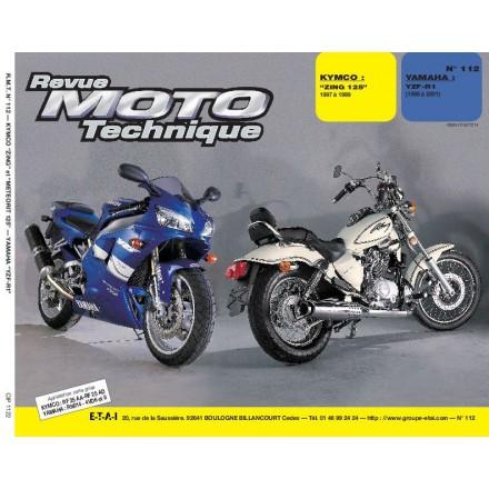 Revue Moto Technique RMT 112.2 KYMCO 125/YAMAHA R1