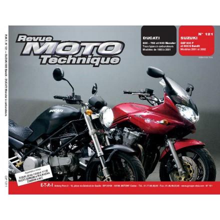Revue Moto Technique RMT 121.1 DUCATI MONSTER-SUZUKI BANDIT 600