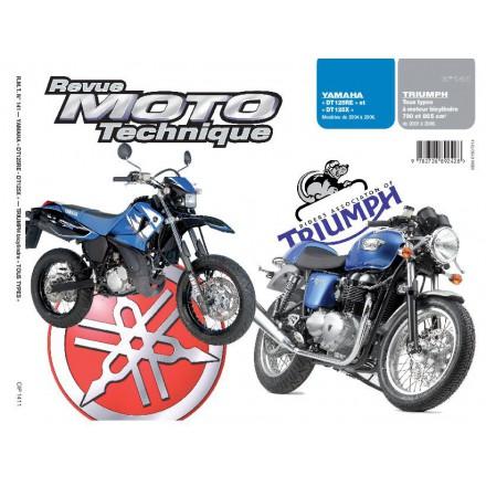 Revue Moto Technique RMT 141.1 YAMAHA DT125RE & X/TRIUMPH T.TYPES 790-865