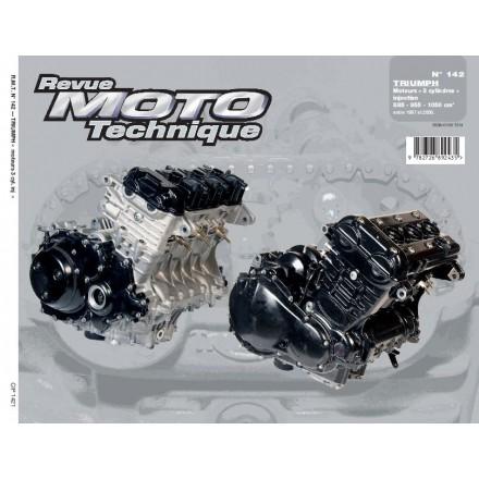Revue Moto Technique RMT 142.1 TRIUMPH 3 CYLINDRES