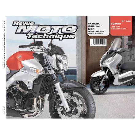 Revue Moto Technique RMT 144.1 SUZUKI GSR600 YAM XMAX125/MBK SKYCRUISER