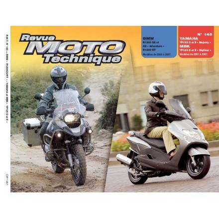 Revue Moto Technique RMT 145.1 BMW R1200 GS/YP 125 D/E MAJESTY