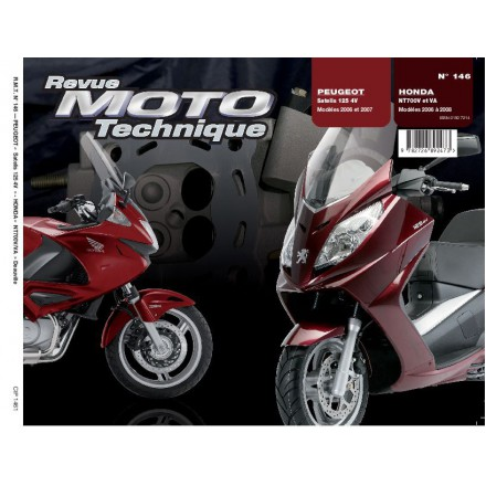 Revue Moto Technique RMT 146.1 NT 700V (06-07) PEUGEOT 125 SATELIS 4V