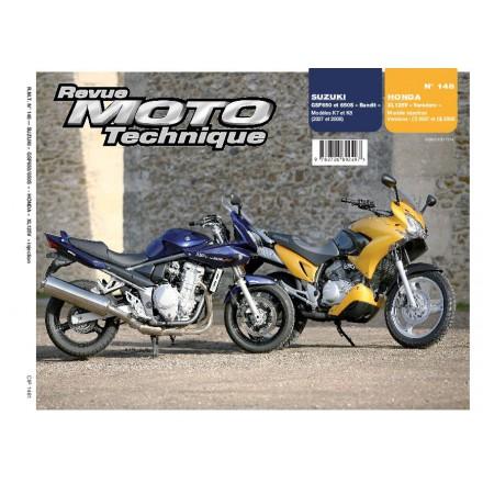 Revue Moto Technique RMT 148.1 HONDA XL125V VARADERO+SUZUKI GSF650/650S