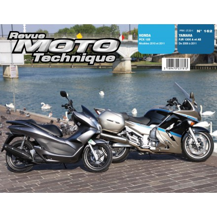 Revue Moto Technique RMT 162 HONDA PCX 125 (10/11+YAMAHA FJR 1300A 06/11