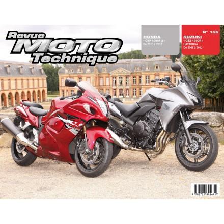 Revue Moto Technique RMT 166 HONDA CBF1000FA 10/12 /SUZ GSX1300R HAYABUSA