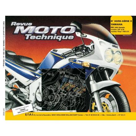 Revue Moto Technique RMT HS 5.2 YAMAHA FZR 1000 GENESIS (87/88)