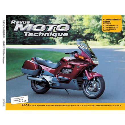 Revue Moto Technique RMT HS 9.3 HONDA ST 1100 PAN EUROPEAN
