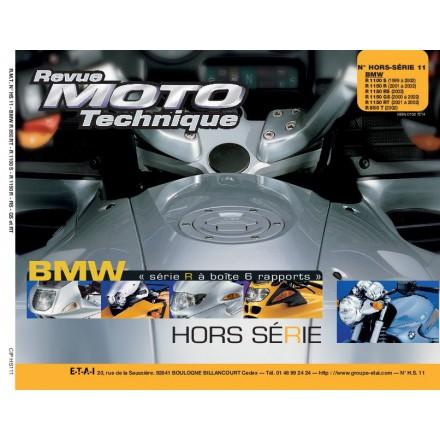 Revue Moto Technique RMT HS11.1 BMW R850RT-1100S-R1150R-RS-GS ET RT