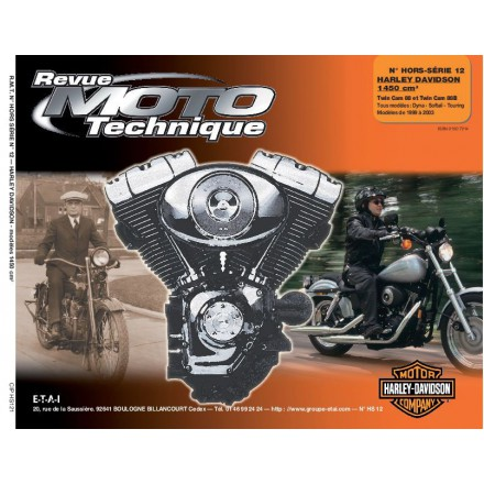 Revue Moto Technique RMT HS12.1 HARLEY DAVIDSON TWIN CAM 88