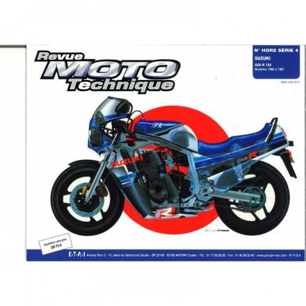 Revue Moto Technique RMT HS 4.1 SUZUKI GSX-R 750 (1985/1987)
