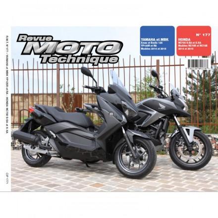 Revue Moto Technique RMT 177 HONDA NC750sx(14-15) YAMAHA Xmax 125 (14-15)