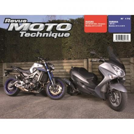 Revue Moto Technique RMT 176 SUZUKI Burgman 125(14-15)YAMAHA MT09 (14-15)