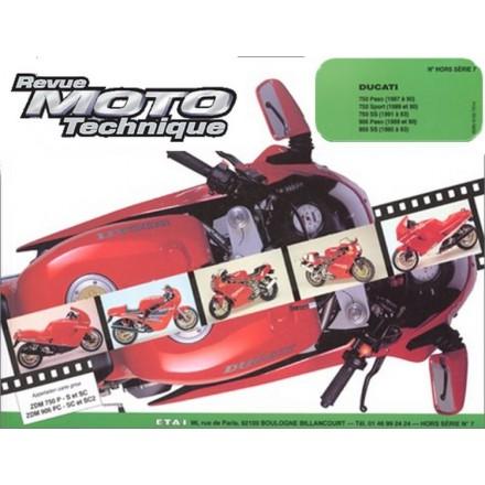 Revue Moto Technique RMT HS 7.1 DUCATI 750 PASO-SPORT (87/93) - 900 PASO