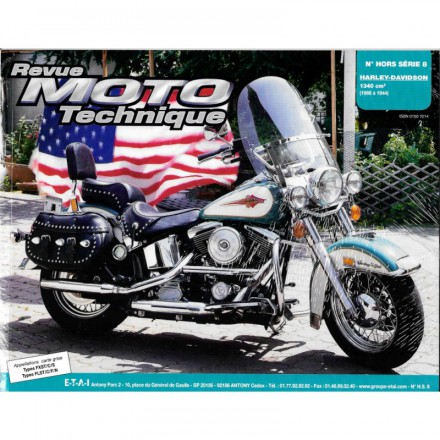 Revue Moto Technique RMT HS 8.1 HARLEY DAVIDSON SOFTAIL (TS TYPES)